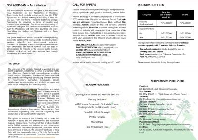 ASBP Call for flyers PG2
